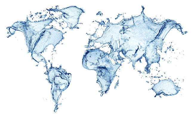 Gerolsteiner World Map of Water